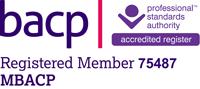 BACP Registered Member 75487